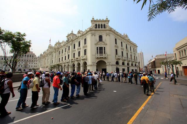 Plaza San Martin. Lima, Peru. Piotr Schmidt #103132