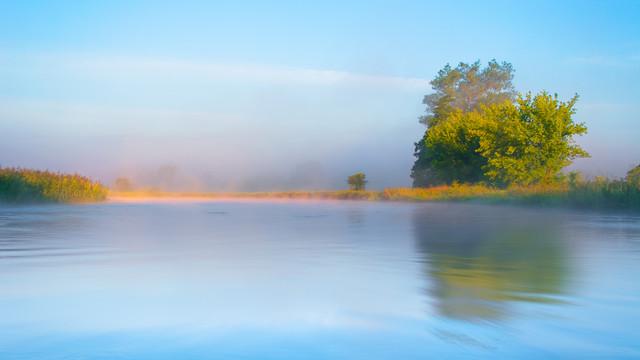 Poranne klimaty nad rzeką Gwda Krzysztof Tollas #320964