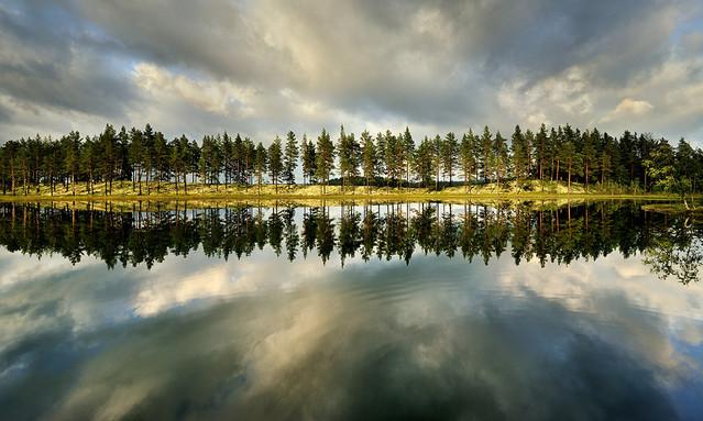 Odbicie północna Szwecja JAN SIEMINSKI #147610