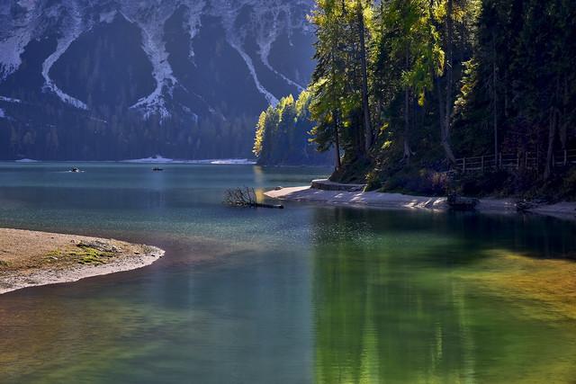 Lago di Braies Dolomity, Włochy JAN SIEMINSKI #313152