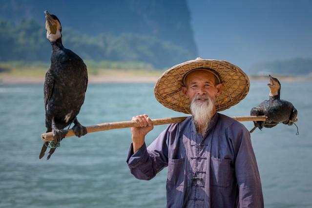 Fisherman from Yangshuo FotoMarian #285830