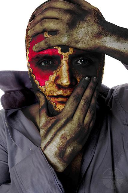 Nascosta Sensilibita portret arte na potrzeby spektaklu