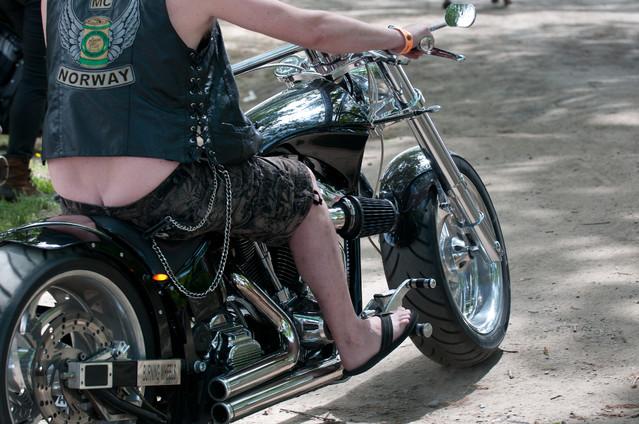 Zlot miłośników motocykli Harley-Davidson Wrocław 2013 - moimi