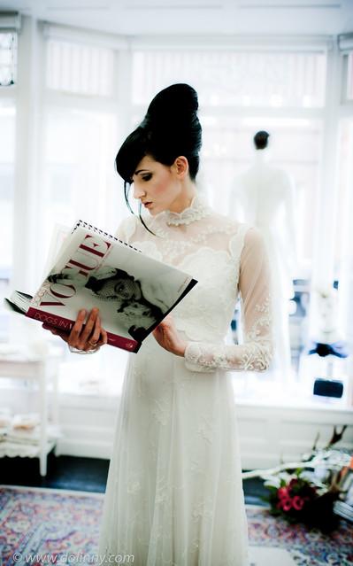 Krzysztof Dolinny wedding dress - Dublin, Ireland
