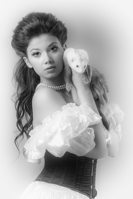 Wersja B/W Studio: Flash Modelka: Olga Pabjan MUA: Karin