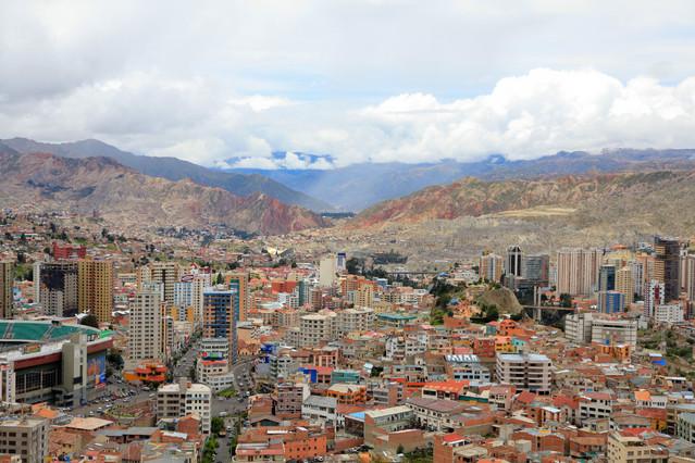 Panorama La Paz. La Paz. Boliwia. Piotr Schmidt #105603
