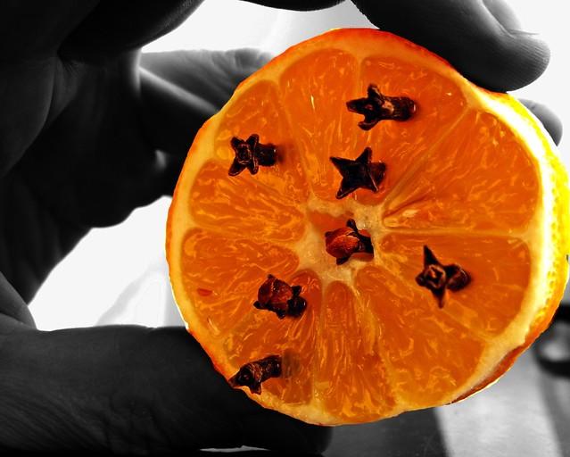 Cytrynowa delicja Fotografia przedstawiająca cytrynę nadziewaną