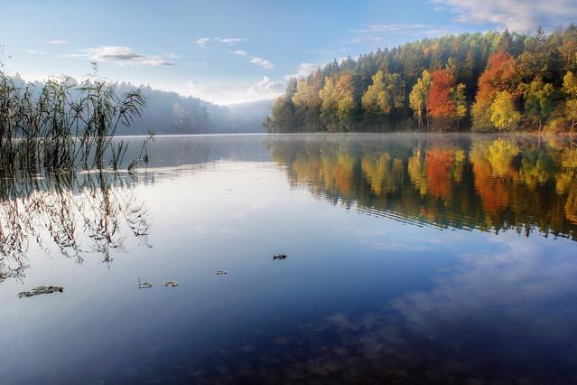 Poranne mgły #11 Jezioro Kapka - Pojezierze Drawskie Sławek