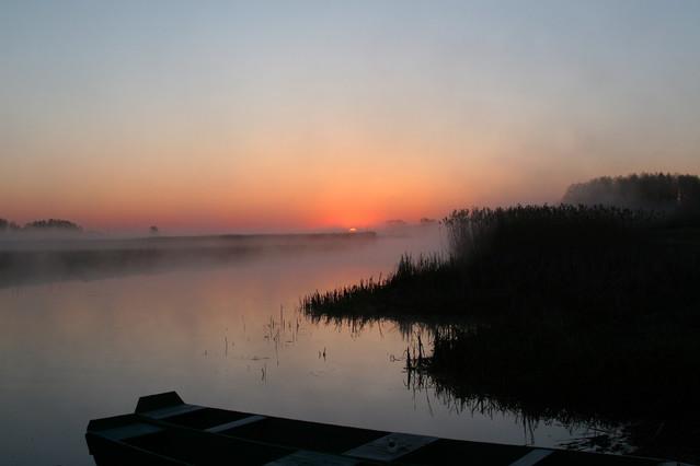 Wschód słońca nad Biebrzą darios #320347