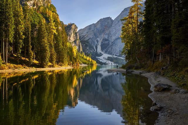 Lago di Braies Dolomity, Włochy JAN SIEMINSKI #310878