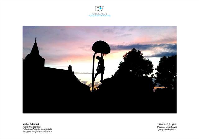 Michał Orłowski Nagroda specjalna, fotograf amator - Polski Konkurs Fotografii Sportowej 2016