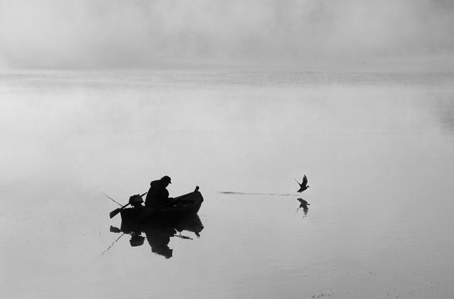 na rybach... Stanisław