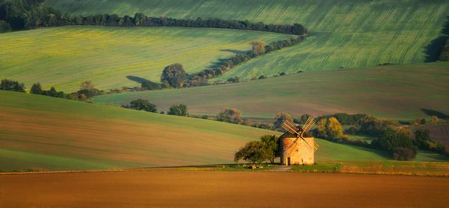 Stary młyn Morawy-panorama JAN SIEMINSKI #314771