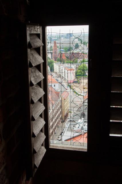 Wrocław. Widok z wieży kościoła Św. Elżbiety. Piotr Schmidt
