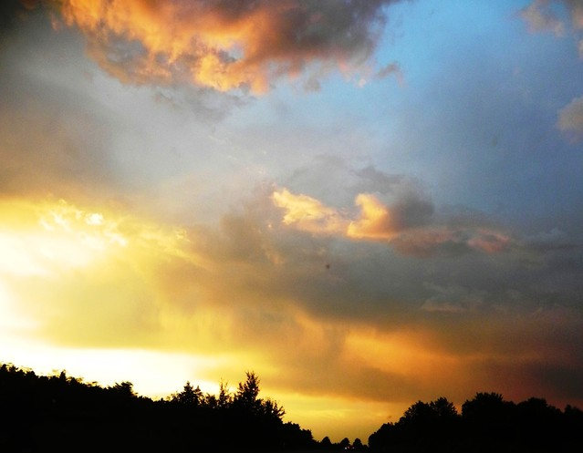 zachód słońca nad Warszawą Marzena Baczyńska #164187