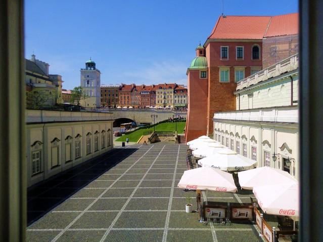 Widok z Pałacu Pod Blachą Janina Godlewska-Gorczyca #158542