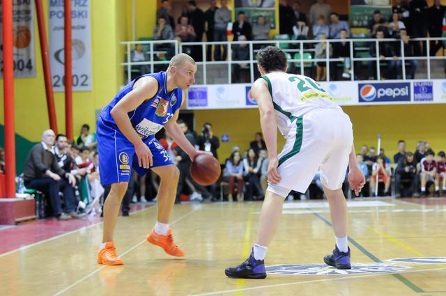 mecz koszykówki fazy play-off pomiędzy Śląsk Wrocław a Start