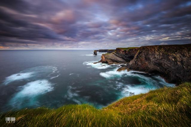 Ryszard Lomnicki Kilkee Cliffs