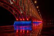 Grzegorz Sulkowski Most nocą