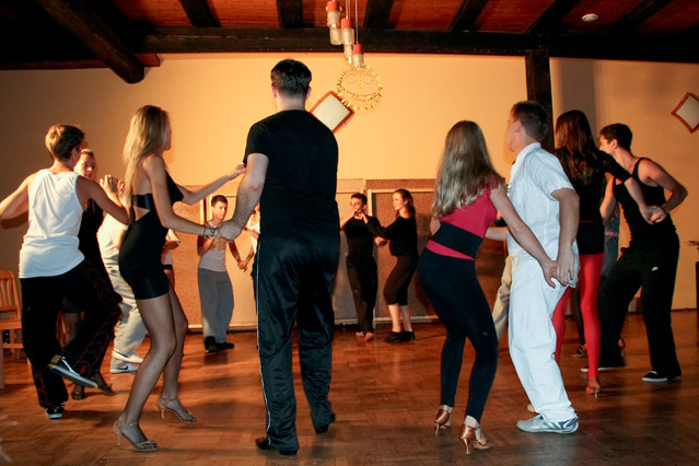 Rueda de Casino. Salsa. Różanka 2011. Epizod 7 Studio Tańca