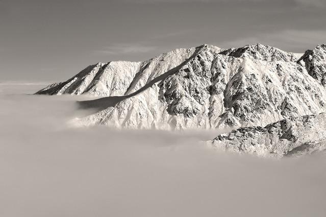 W chmurach Tatry , widok z Kasprowego JAN SIEMINSKI #148575