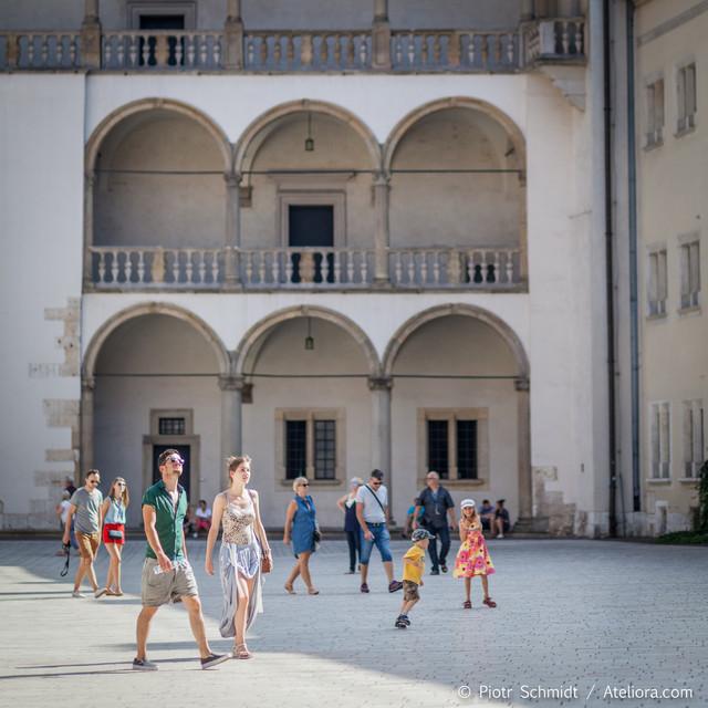 Wawel Kraków turystycznie. Piotr Schmidt #280184
