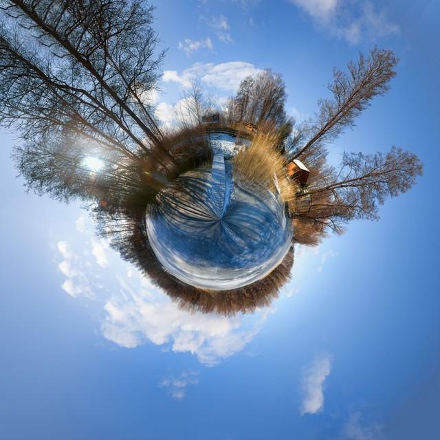 Mała Planeta Mała Planeta wykonana z 360-stopniowej panoramy HDR
