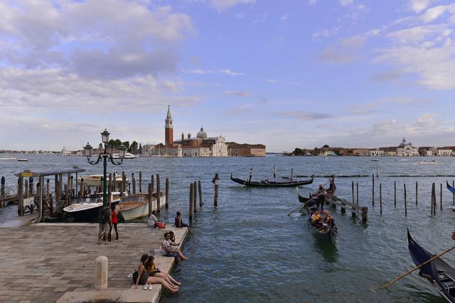 Wenecja - kanał główny Dariusz WojtaIa #321097