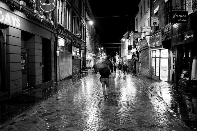 Spacer w deszczu Krzysztof Tollas #316022
